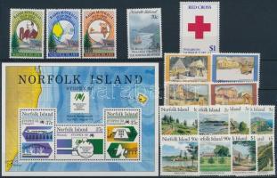1987-1990 17 klf bélyeg, 1 blokk