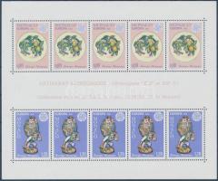 1976 Europa CEPT kézművesség blokk Mi 10