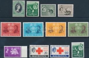 1953-1963 12 db bélyeg