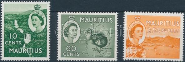 1963 Forgalmi sor Mi 265-267