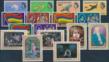 1967-1968 3 klf sor Mi 294-297, 313-318, 325-330