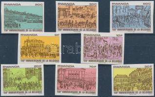 Belgian independence imperf set, Belga függetlenség vágott sor