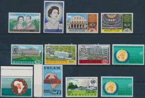 1972-1973 12 db bélyeg