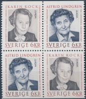 1996 Europa CEPT, híres nők négyestömb Mi 1943 Do - 1944 Du