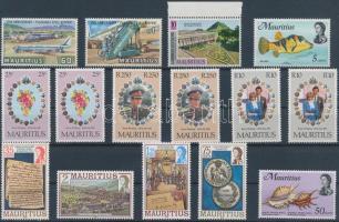 1969-1981 15 db bélyeg