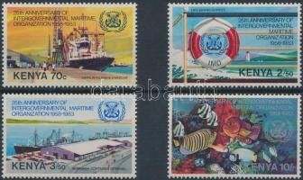1983 25 éves a Nemzetközi tengerészeti szervezet sor Mi 267-270