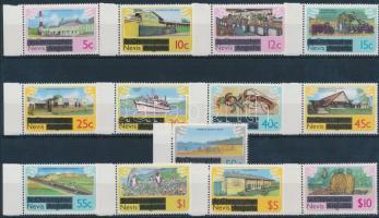 1980 Forgalmi sor Mi 25-37