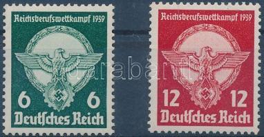 1939 Szakmai verseny sor Mi 689-690