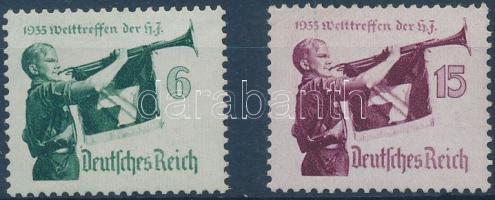 1935 Hitlerjugend sor Mi 584-585