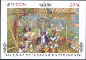 Europa CEPT Instruments stampbooklet, Europa CEPT Hangszerek bélyegfüzet