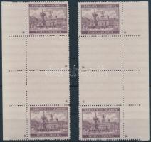 Böhmen und Mähren 1940 Tájkép 6K 2 db függőleges ívszéli (jobb- és bal oldali) 2-2 üresmezős pár 4-4 db csillaggal Mi 58