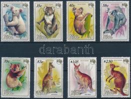 1984 Nemzetközi bélyegkiállítás: Állatok sor Mi 575-582 A