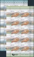 2014 Europa CEPT Hangszerek kisívpár Mi 1159-1160