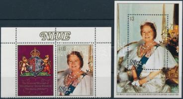 1980 Erzsébet királynő Mi 356 + blokk Mi 37