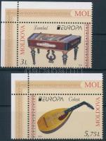 2014 Europa CEPT Hangszerek ívsarki sor Mi 863-864