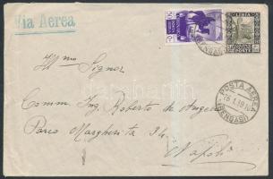 Airmail to Italy, Légi levél Olaszországba