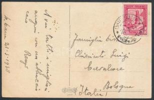 Postcard to Bologna, Képeslap Bolognába