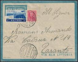 Airmail to Taranto, Légi levél Tarantoba