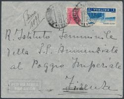 1937 Légi levél Olaszországba