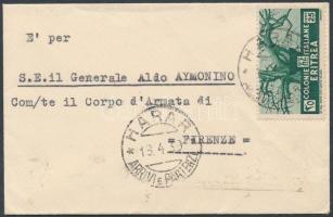 Letter to Florence, Levél Firenzébe