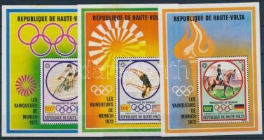 1972 Olimpiai aranyérmesek blokksor Mi 6-8