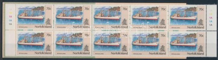 1990 Forgalmi: hajók bélyegfüzet Mi 482