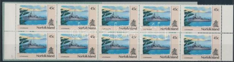 1991 Forgalmi: hajók bélyegfüzet Mi 495