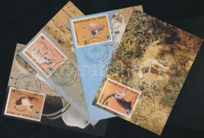 1985 WWF antilopok sor Mi 941-944 4 CM