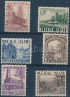 1953 Tájak sor Mi 15-20