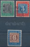 1949 100 éves a német bélyeg sor Mi 113-115