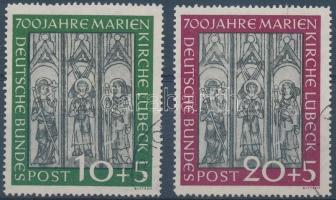 1951 Mária-templom sor Mi 139-140