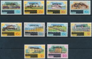 1980 Hivatalos sor Mi 1-10
