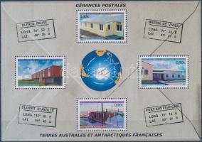 2004 Postaépületek blokk Mi 11