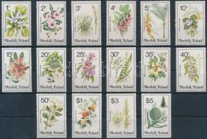 1984 Növények sor Mi 319-334