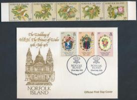 1979-1981 23 db bélyeg, 1 FDC és 3 blokk