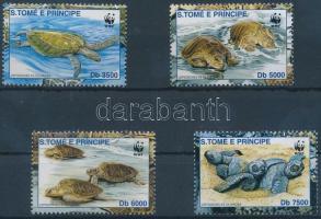 2001 WWF teknősök sor Mi 1899-1902