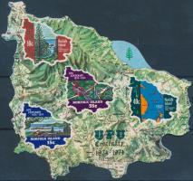 1974 100 éves az UPU blokk Mi 1