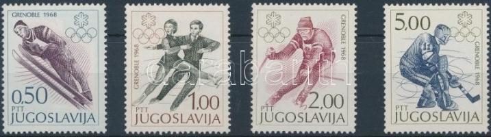 1968 Téli Olimpia, Grenoble sor Mi 1262-1265