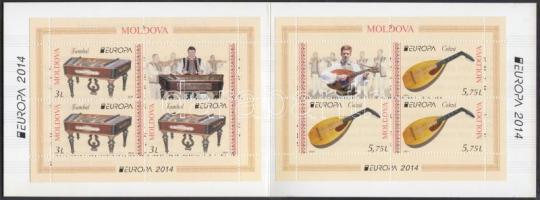 2014 Europa CEPT Hangszerek bélyegfüzet Mi MH 19