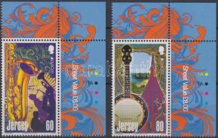 2014 Europa CEPT Hangszerek ívsarki Mi 1794-1795