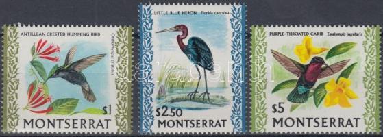 1970 Őshonos madarak záró értékek Mi 240-242