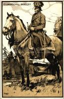 1915 Feldmarschall Radetzky; von der k.k. Gesellschaft von österr. Silbernen Kreuze zur Fürsorge für heimkehrende Reservisten s: Rloubal (EK)