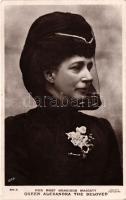 Queen Alexandra the Beloved; Beagles postards, Szeretett Alexandra királynő