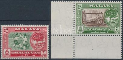 Malakka 1960 Forgalmi záróértékek Mi 64-65