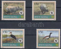 WWF ritka állatok sor + 4 FDC WWF rare animals set + 4 FDC