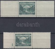 Böhmen und Mähren 1939-1944 15 db bélyeg üresmezővel, összefüggésben, csillaggal, szelvénnyel