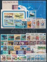 1968-1984 41 db bélyeg, közte teljes sorok + 2 db blokk + 1 db kisív + 1 db FDC