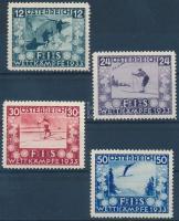 1933 Ifjúságért: Sí verseny sor Mi 551-554