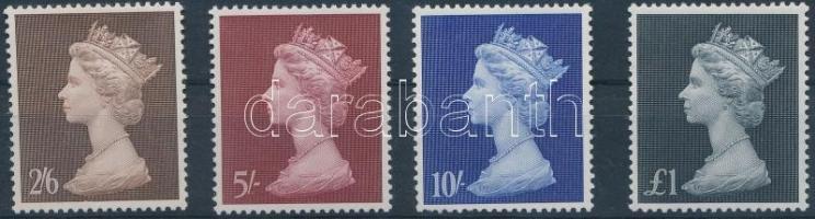 1969 II. Erzsébet sor Mi 507-510