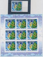 2005 Újév és Karácsony ívszéli bélyeg + kisív Mi 1294